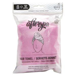 FREE w/$35 purchase AFTERSPA Hair Towel turban NEW
